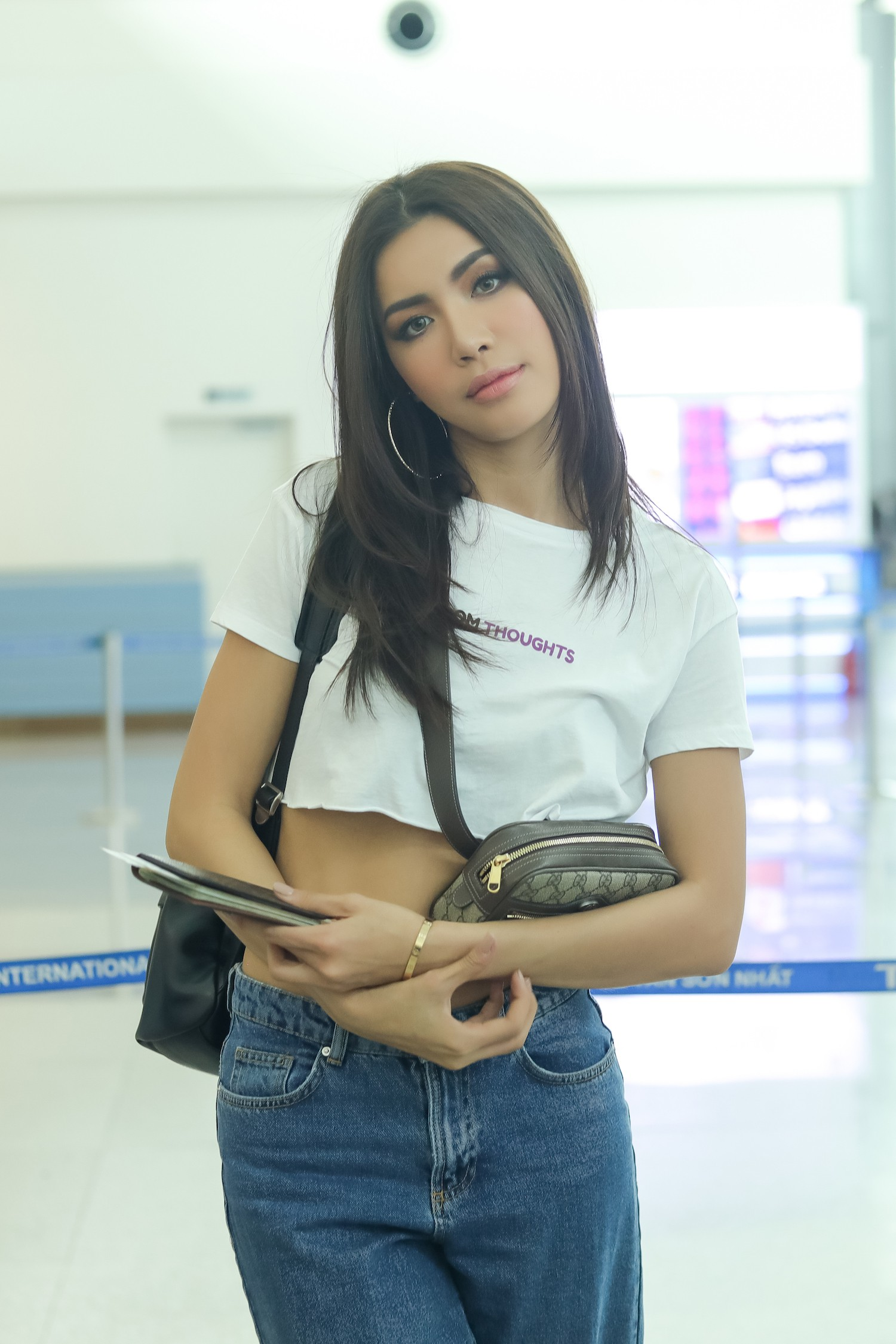 Minh Tú chính thức sang Thái Lan tham dự họp báo Asias Next top Model  - Ảnh 8.