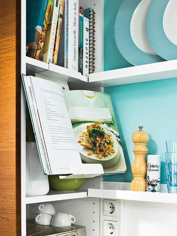 2 căn bếp nhỏ hiện đại và đẹp bất ngờ với tone màu xanh nhạt  - Ảnh 6.