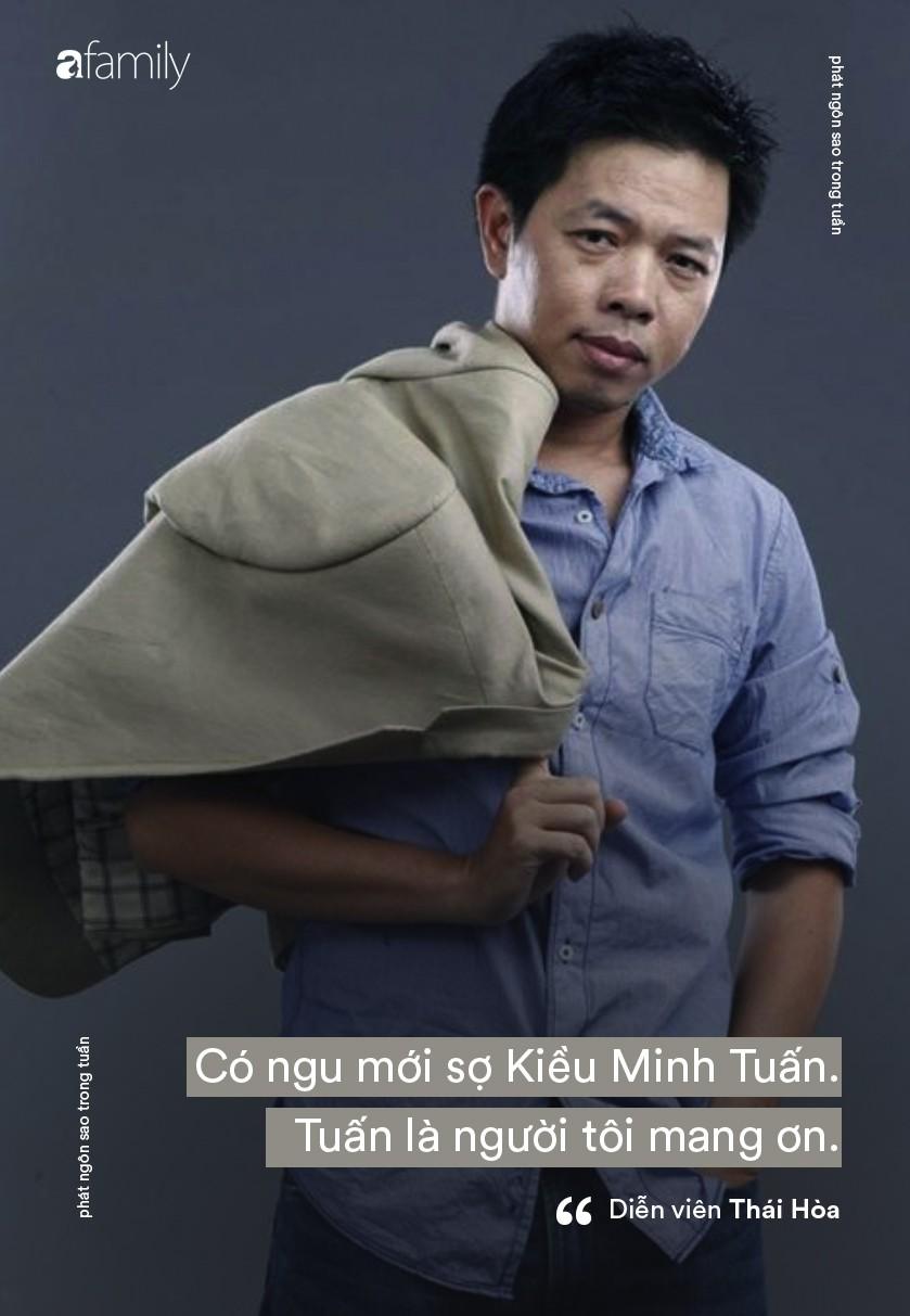 Thái Hòa biết ơn Kiều Minh Tuấn vì đã thay anh dạy dỗ con trai; Khánh Thi tuyên bố không đời nào bỏ chồng khi mới sinh con - Ảnh 1.