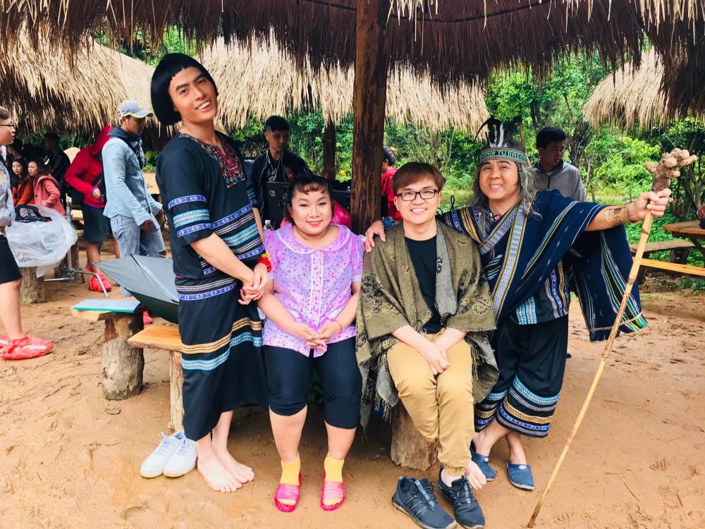 Đại Nghĩa hé lộ tạo hình vui nhộn trong dự án kết hợp cùng quán quân Cười xuyên Việt 2017 - Ảnh 4.