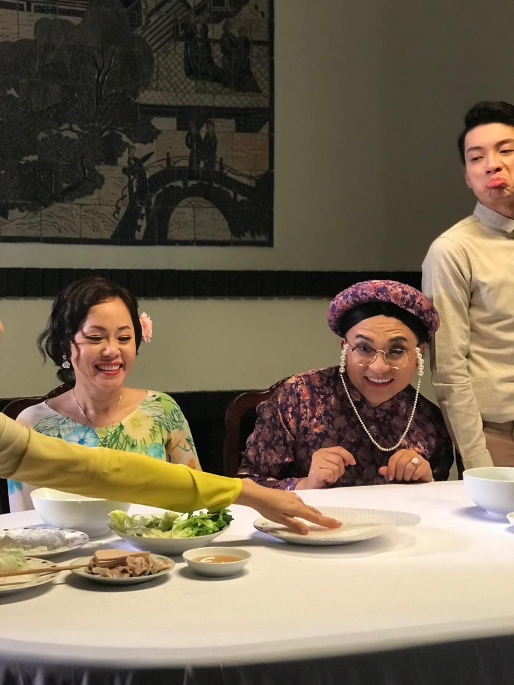 Đại Nghĩa hé lộ tạo hình vui nhộn trong dự án kết hợp cùng quán quân Cười xuyên Việt 2017 - Ảnh 6.