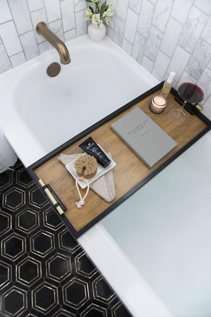 Chỉ với vật dụng này, phòng tắm nhà bạn không khác gì spa - Ảnh 1.