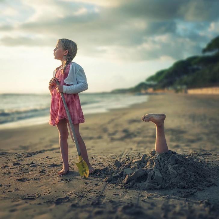 Khi bố vừa là nhiếp ảnh gia kiêm thánh photoshop, các con sẽ có những bức ảnh đẹp ai nhìn cũng mê - Ảnh 5.