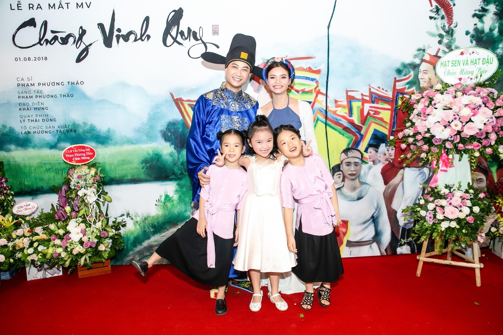 Ông bố điệu nhất của Bố ơi Tiến Lộc thừa nhận rung động trước đàn chị Phạm Phương Thảo - Ảnh 1.