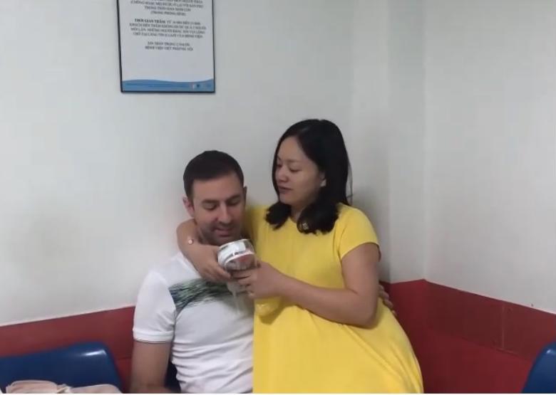Chia sẻ clip đi đẻ, diễn viên Lan Phương khiến các bà mẹ rơi nước mắt vì đồng cảm và xúc động - Ảnh 2.