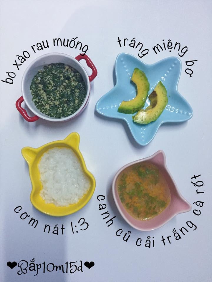 Con 11 tháng nhưng chưa bao giờ bỏ bữa nhờ kho thực đơn ăn dặm đa dạng, dễ làm của mẹ đảm - Ảnh 10.