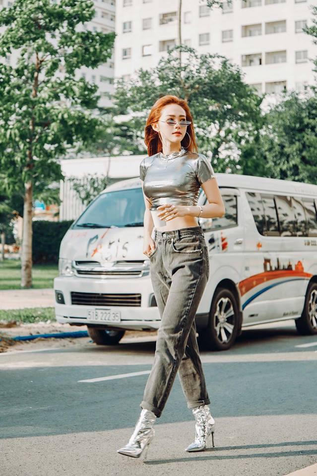 Trước The Face, Minh Hằng khoe street style chất chơi chẳng kém Phí Phương Anh, Khánh Linh - Ảnh 1.