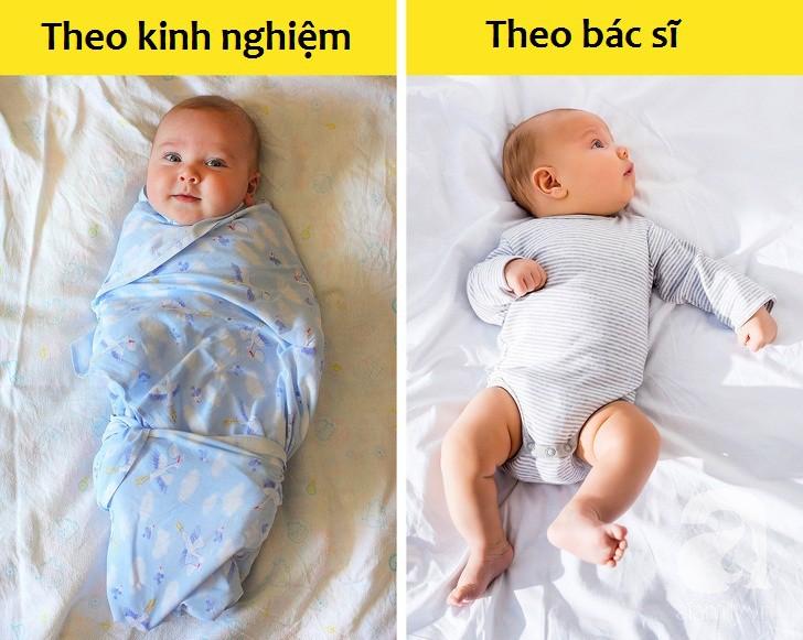 Những cách chăm sóc trẻ sơ sinh các mẹ cứ nghĩ là đúng nhưng bác sĩ khuyên hoàn toàn ngược lại - Ảnh 2.