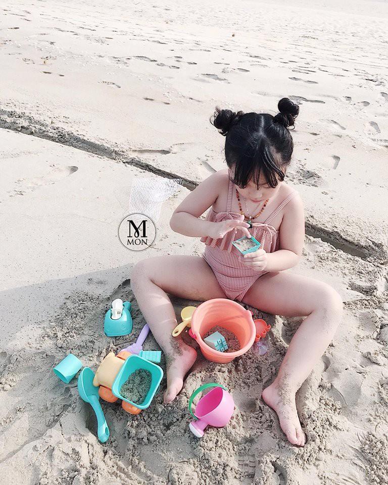 Hot mom Ngọc Mon tự tin khoe dáng thon sau 3 tháng sinh con - Ảnh 2.