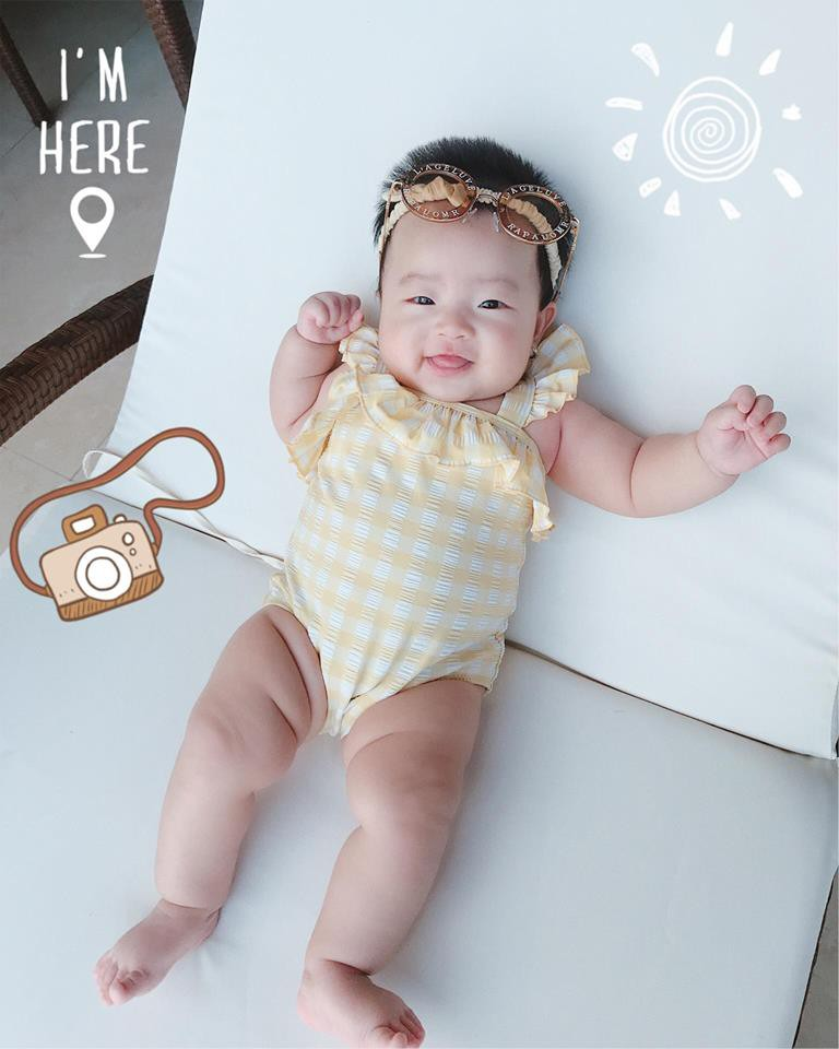 Hot mom Ngọc Mon tự tin khoe dáng thon sau 3 tháng sinh con - Ảnh 3.