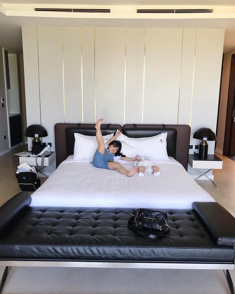 Hot mom Ngọc Mon tự tin khoe dáng thon sau 3 tháng sinh con - Ảnh 5.