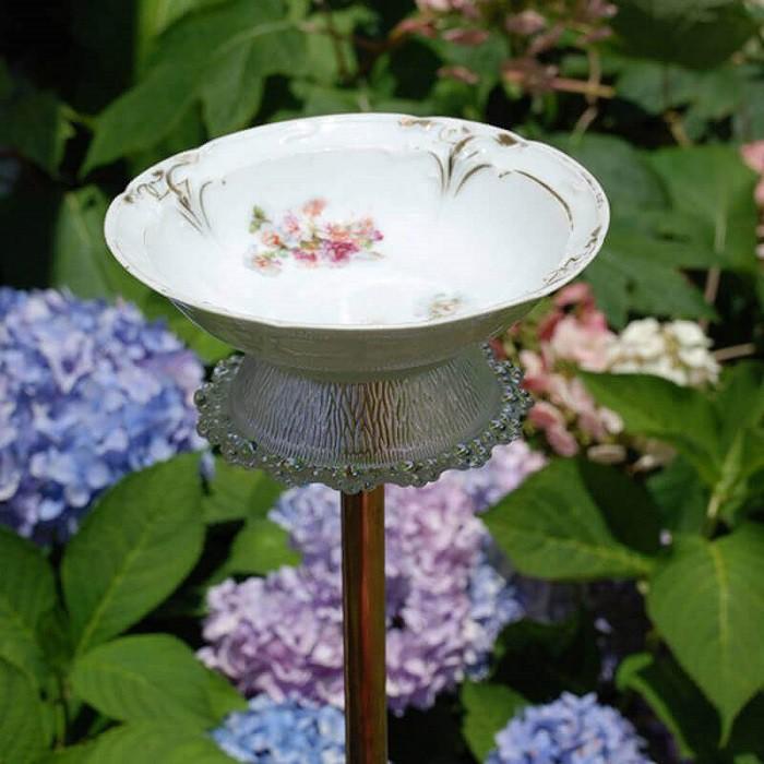 8 cách biến tấu tách trà và bát đĩa đã cũ thành vật trang trí nhà vừa tiết kiệm vừa đẹp - Ảnh 5.