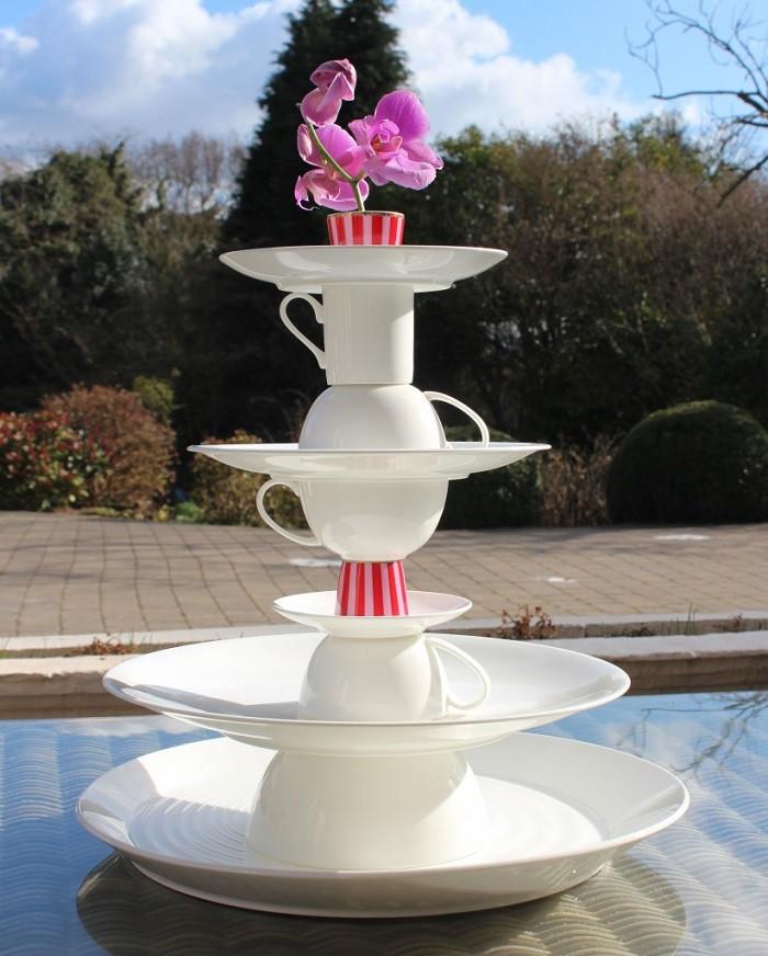 8 cách biến tấu tách trà và bát đĩa đã cũ thành vật trang trí nhà vừa tiết kiệm vừa đẹp - Ảnh 6.