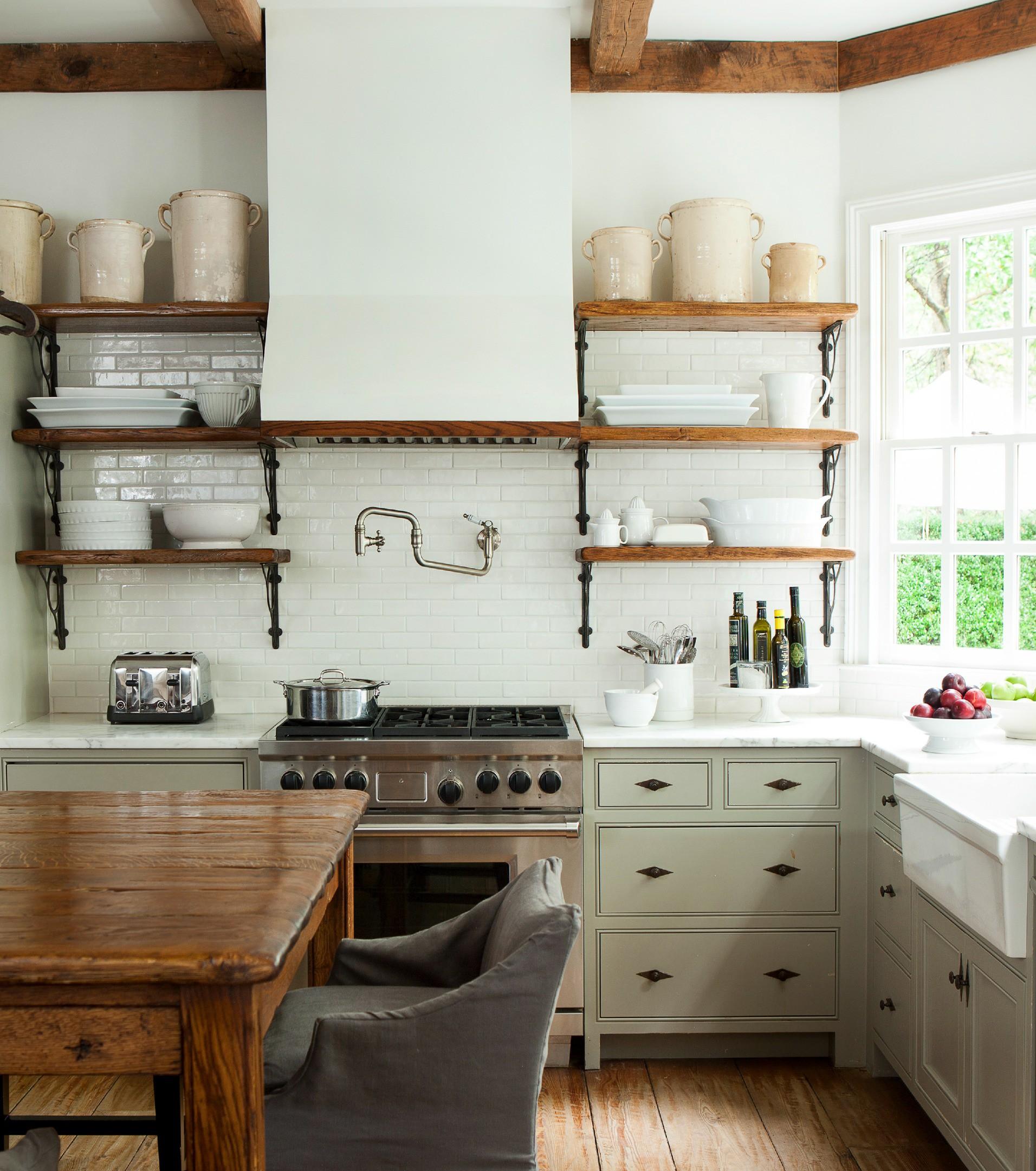 9 cách để mở ra hướng đi cho phòng bếp nhà chung cư chật chội  - Ảnh 6.