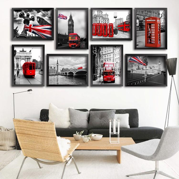 Tranh Canvas - Xu hướng trang trí nhà đang được ưa chuộng bậc nhất hiện nay - Ảnh 6.