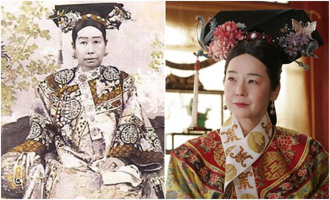 Ngã ngửa với nhan sắc thực của các cung tần mỹ nữ Trung Quốc xưa: Phim và đời khác nhau một trời một vực! - Ảnh 5.