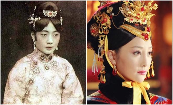 Ngã ngửa với nhan sắc thực của các cung tần mỹ nữ Trung Quốc xưa: Phim và đời khác nhau một trời một vực! - Ảnh 7.