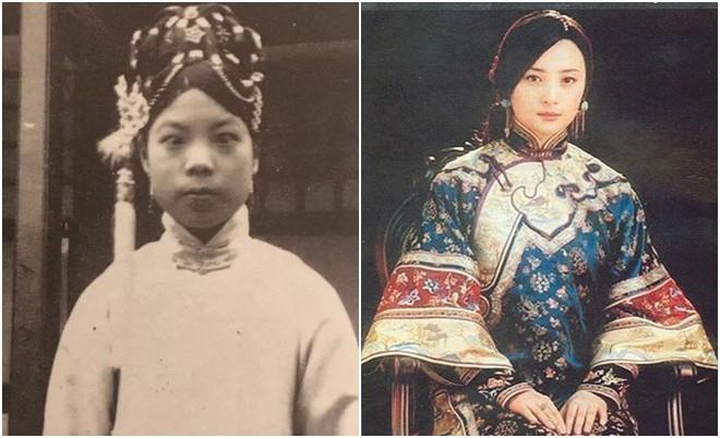 Ngã ngửa với nhan sắc thực của các cung tần mỹ nữ Trung Quốc xưa: Phim và đời khác nhau một trời một vực! - Ảnh 2.