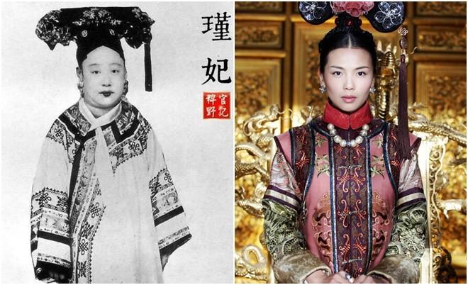 Ngã ngửa với nhan sắc thực của các cung tần mỹ nữ Trung Quốc xưa: Phim và đời khác nhau một trời một vực! - Ảnh 8.