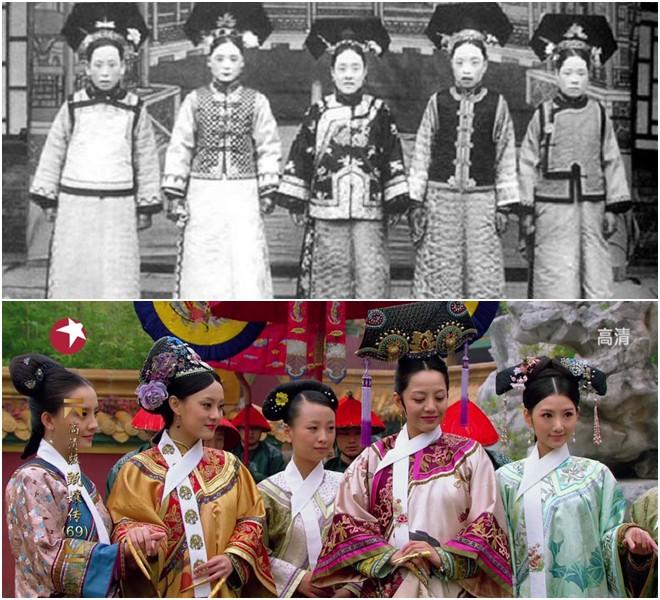 Ngã ngửa với nhan sắc thực của các cung tần mỹ nữ Trung Quốc xưa: Phim và đời khác nhau một trời một vực! - Ảnh 1.