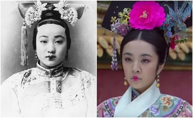 Ngã ngửa với nhan sắc thực của các cung tần mỹ nữ Trung Quốc xưa: Phim và đời khác nhau một trời một vực! - Ảnh 10.