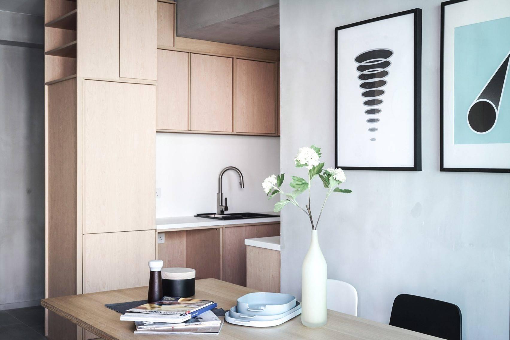 Ở nơi nhà đắt nhất thế giới, căn hộ nhỏ của cặp vợ chồng trẻ trở nên rộng gấp đôi nhờ giải pháp này - Ảnh 2.