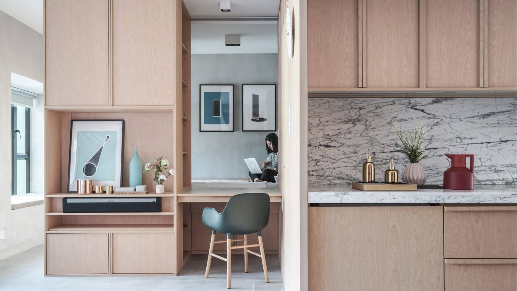 Ở nơi nhà đắt nhất thế giới, căn hộ nhỏ của cặp vợ chồng trẻ trở nên rộng gấp đôi nhờ giải pháp này - Ảnh 7.
