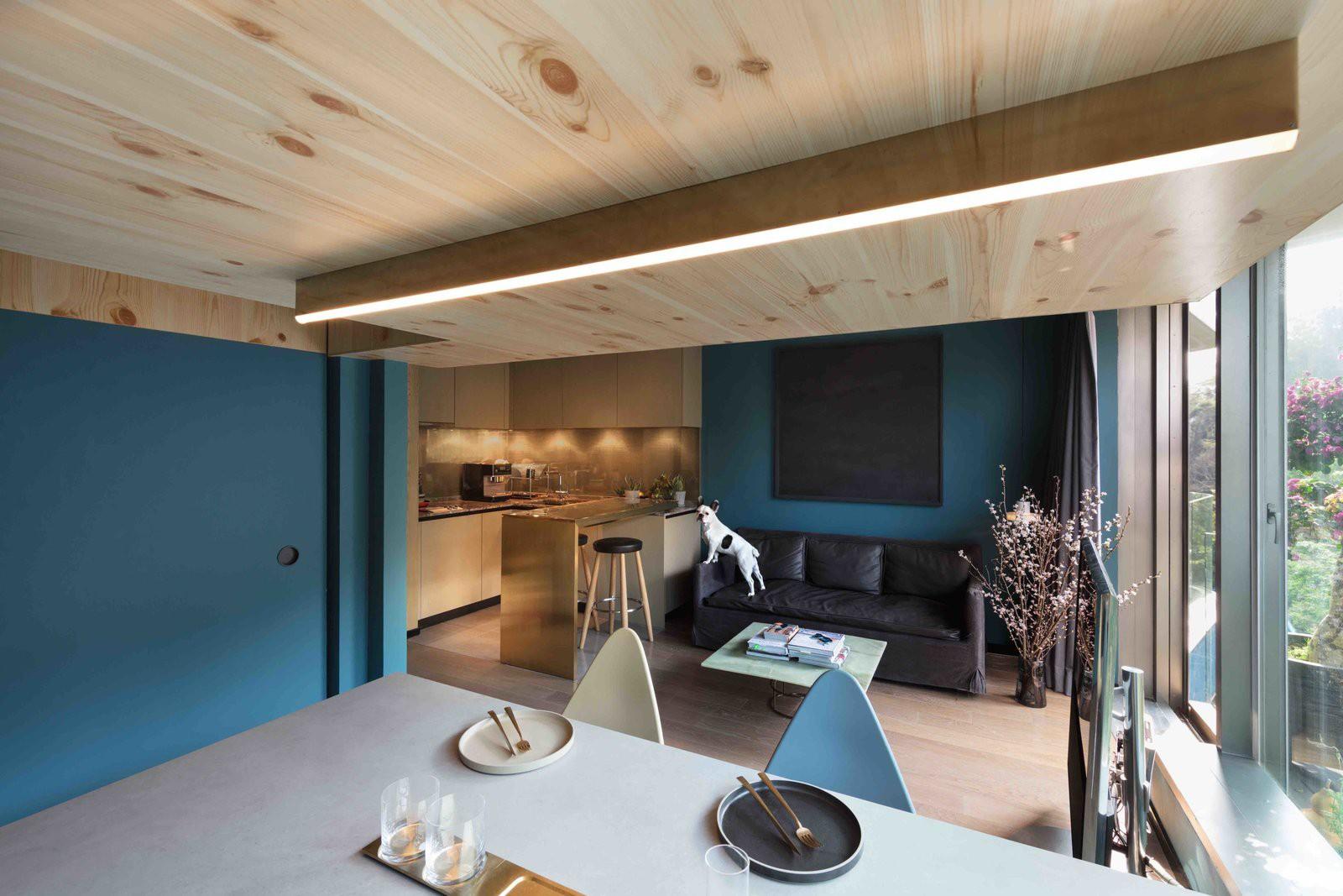 Chiêm ngưỡng căn hộ nhỏ này, bạn sẽ thấy nhà nhỏ nhưng có trần cao thì mọi việc đều được giải quyết đơn giản - Ảnh 3.