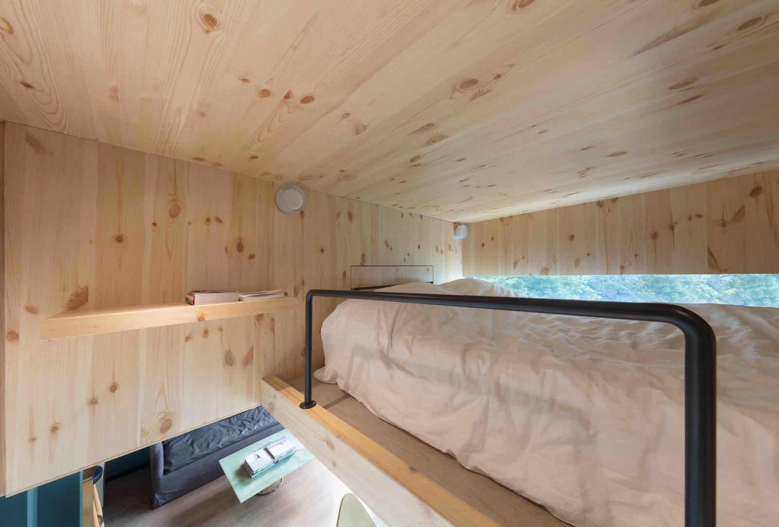 Chiêm ngưỡng căn hộ nhỏ này, bạn sẽ thấy nhà nhỏ nhưng có trần cao thì mọi việc đều được giải quyết đơn giản - Ảnh 5.