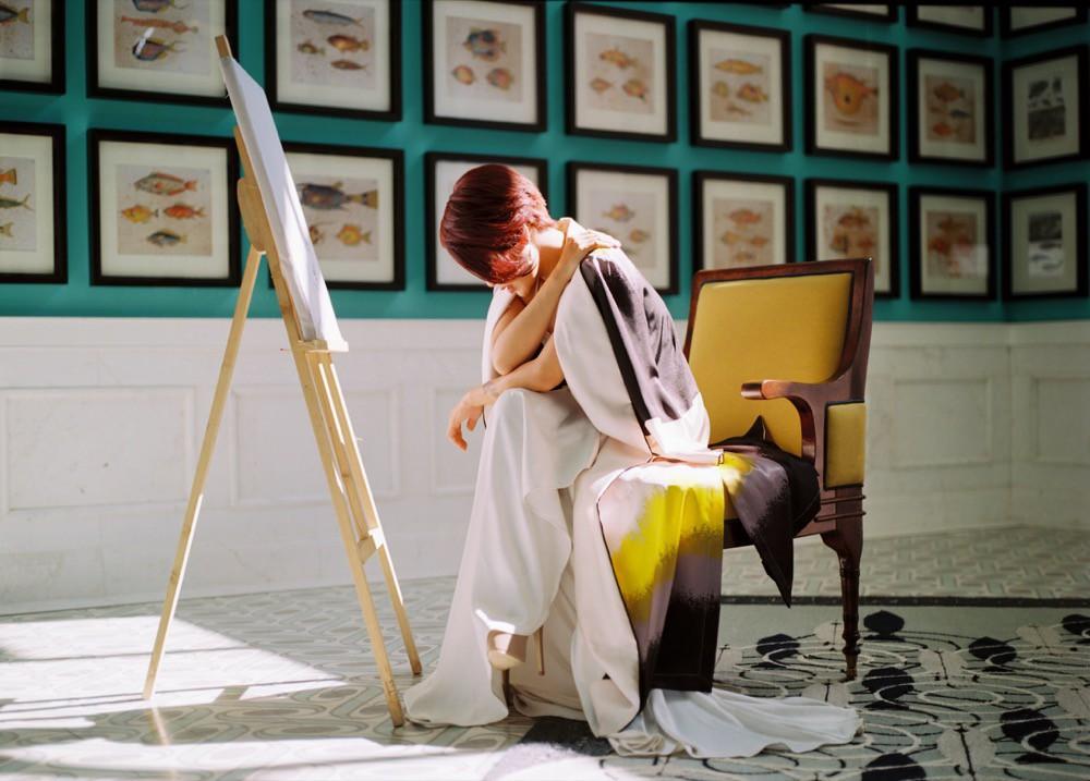 Chán kể chuyện yêu đương sầu thảm, Uyên Linh mong manh tìm kiếm cuộc đời mình  - Ảnh 8.