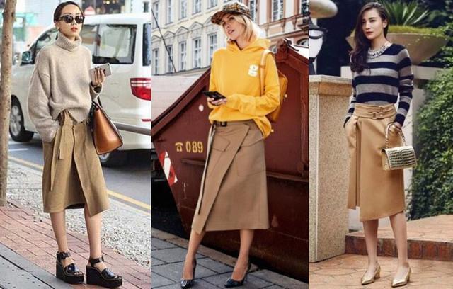 Tạm cất những thiết kế mỏng manh mềm mại, chân váy mùa thu năm nay lại thiên về kiểu đứng dáng thế này - Ảnh 3.
