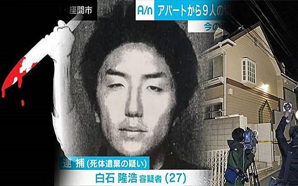 Vụ án chấn động Nhật Bản: 9 thi thể bị cưa nhỏ bốc mùi tố cáo tội ác của tên sát thủ làm việc trong ngành công nghiệp tình dục - Ảnh 4.