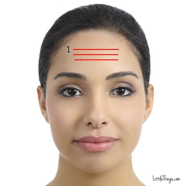 Nếp nhăn trên khuôn mặt tiết lộ điều gì về cơ thể của bạn? Nếu có nếp nhăn ở lông mày thì đáng lo hơn cả - Ảnh 2.