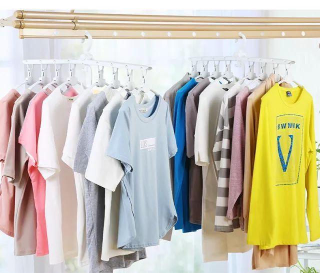 Sức chứa của tủ quần áo sẽ rộng gấp 8 lần nhờ móc treo quần áo ma thuật  - Ảnh 7.