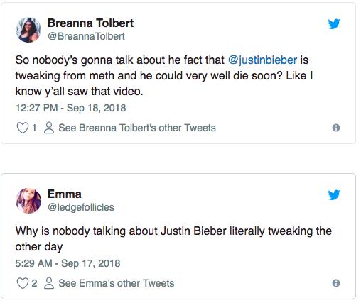 Sốc với clip Justin Bieber mất kiểm soát, liên tục co giật run rẩy khi đi trên phố - Ảnh 3.