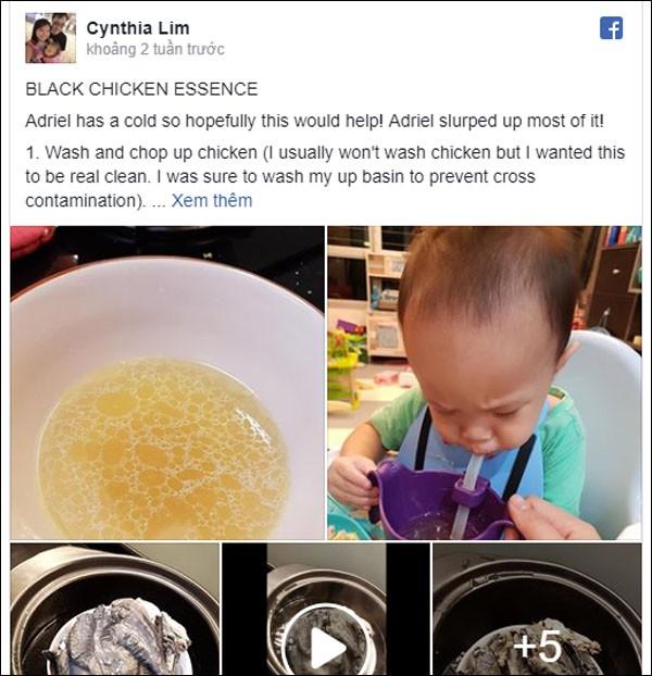 Mẹ khéo chăm con chia sẻ công thức nấu tinh chất gà ác chữa cảm lạnh cho bé không cần dùng thuốc - Ảnh 1.