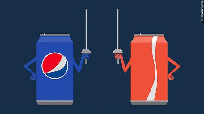 Vì so Pepsi từ vị thế là đối thủ lớn nhất củ Coc-Col lại trở nên thất thế? - Ảnh 1.