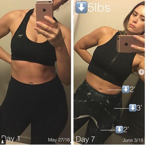 Nhờ kiên trì làm việc này, cô gái trẻ đã giảm ngay 9kg trong 1 tháng, da dẻ không còn bị viêm mà còn đẹp lên rất nhiều - Ảnh 6.