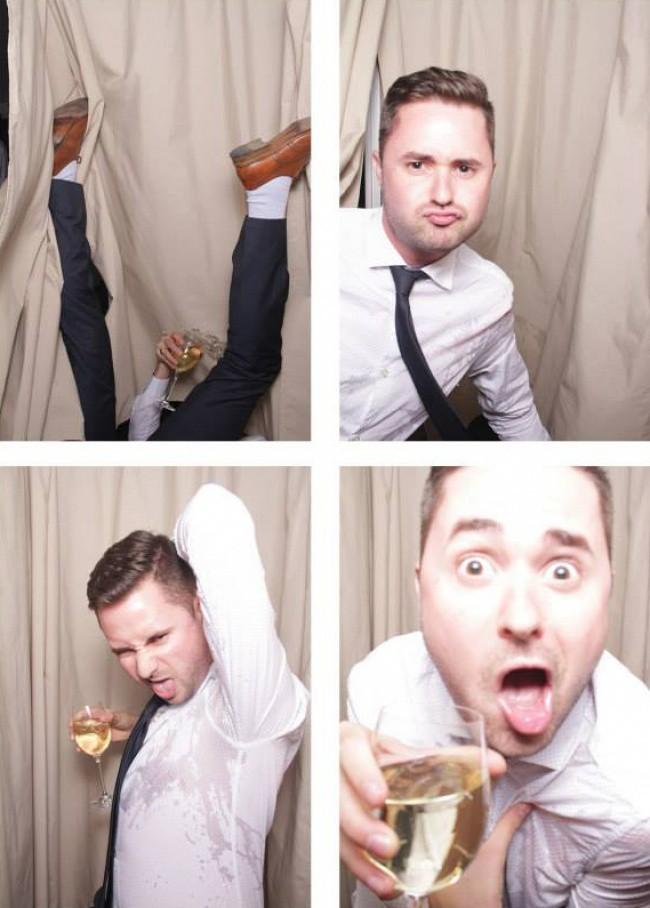 Ngày cưới chính là ngày vui nhất, vì vậy hãy lưu lại khoảnh khắc ấy bằng những bức hình nhìn là muốn cười bò như thế này - Ảnh 1.
