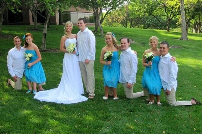 Ngày cưới chính là ngày vui nhất, vì vậy hãy lưu lại khoảnh khắc ấy bằng những bức hình nhìn là muốn cười bò như thế này - Ảnh 7.