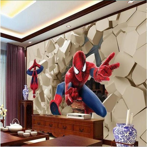 Không gian phòng ngủ bé trai thêm ấn tượng với cảm hứng trang trí từ Spiderman - Ảnh 1.