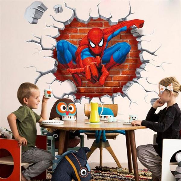 Không gian phòng ngủ bé trai thêm ấn tượng với cảm hứng trang trí từ Spiderman - Ảnh 3.