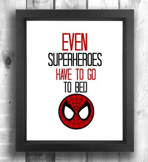 Không gian phòng ngủ bé trai thêm ấn tượng với cảm hứng trang trí từ Spiderman - Ảnh 4.