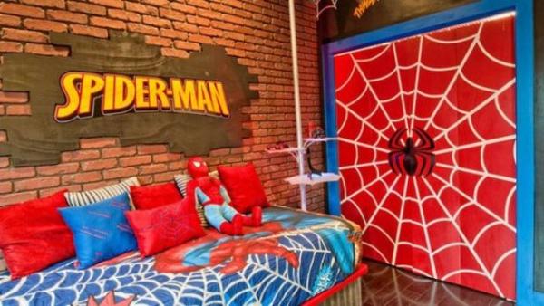 Không gian phòng ngủ bé trai thêm ấn tượng với cảm hứng trang trí từ Spiderman - Ảnh 11.
