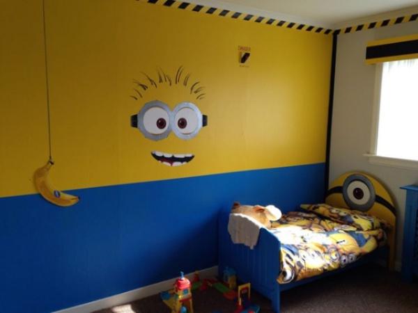 Phòng bé vui nhộn với những ý tưởng làm đẹp phòng từ Minions siêu đáng yêu và thú vị - Ảnh 6.