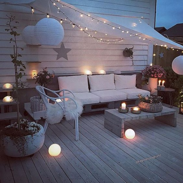 Ban công lung linh, đẹp lãng mạn về đêm với vô vàn ý tưởng thú vị làm đẹp bằng ánh sáng - Ảnh 14.