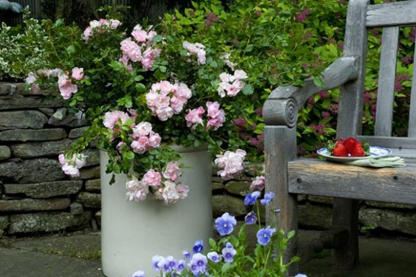 Rộn ràng hương sắc xuân trong sân vườn nhờ những ý tưởng làm đẹp sáng tạo - Ảnh 6.