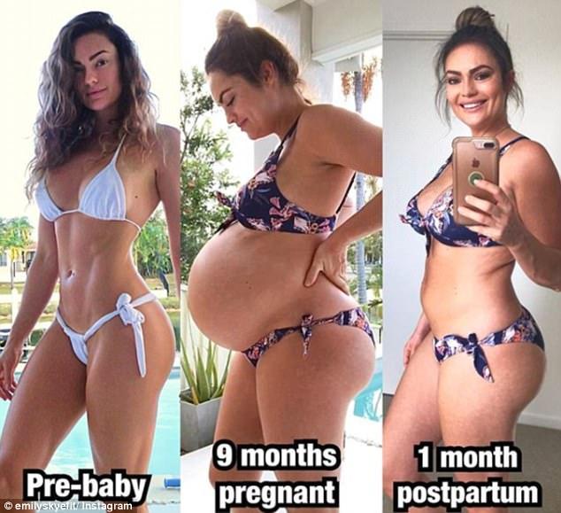 Bà mẹ hô biến bụng mỡ sau khi sinh thành bụng săn chắc chỉ bằng 1 động tác - Ảnh 1.
