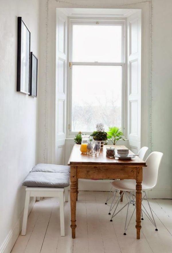 Kết hợp bàn gỗ kiểu cũ với ghế hiện đại - xu hướng mới cho phòng ăn gia đình - Ảnh 7.