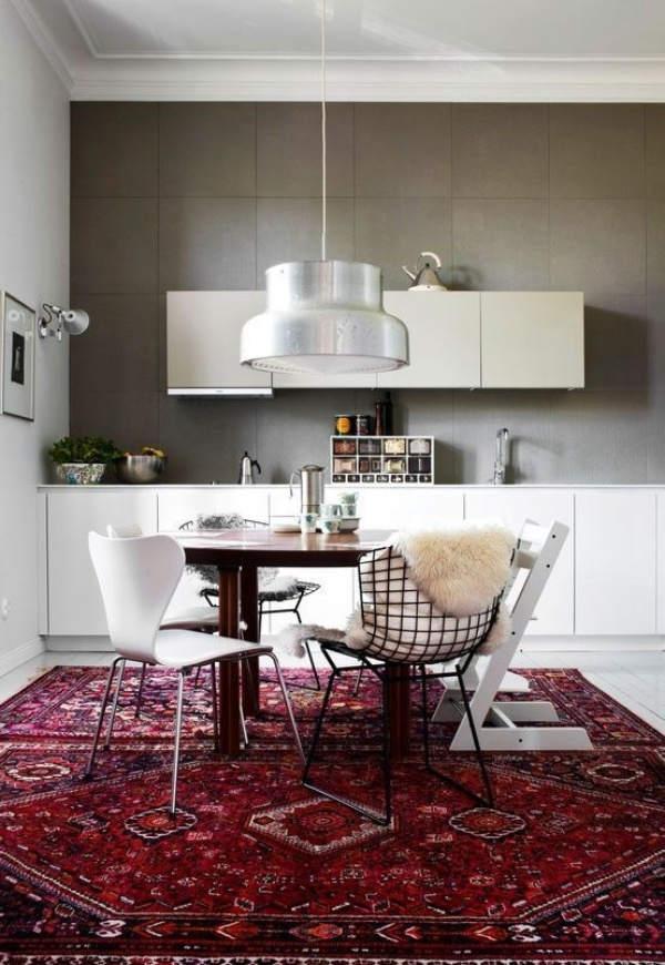 Kết hợp bàn gỗ kiểu cũ với ghế hiện đại - xu hướng mới cho phòng ăn gia đình - Ảnh 12.